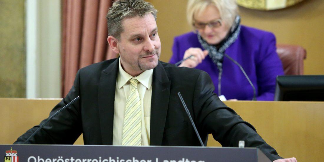 LAbg. Schießl: Einsatz für die Mobilität in Oberösterreich im Straßenbau