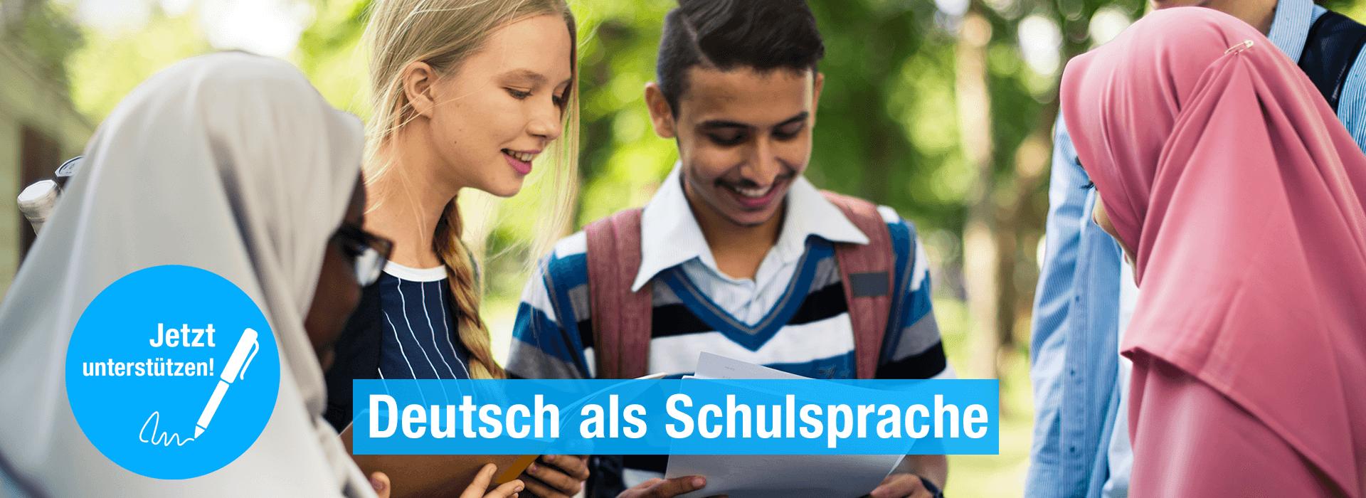 "Petition ""Deutsch am Pausenhof"""