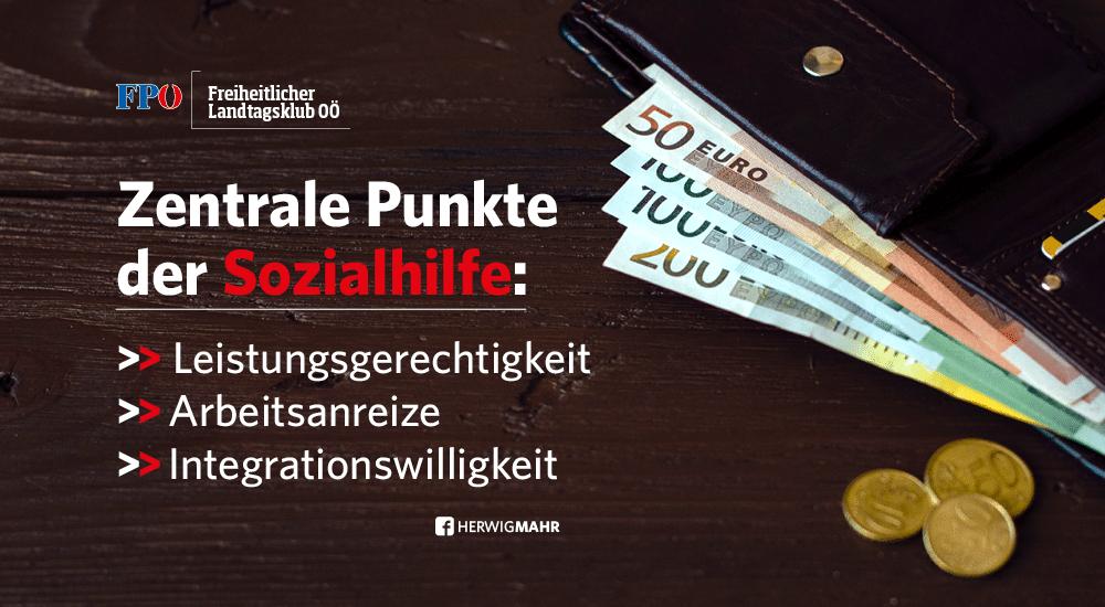 Sozialhilfe-Gesetz: Faire Lösung in Oberösterreich