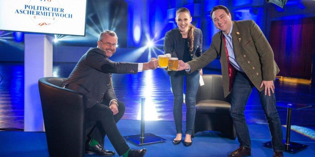 Traditioneller Aschermittwoch der FPÖ erstmals online