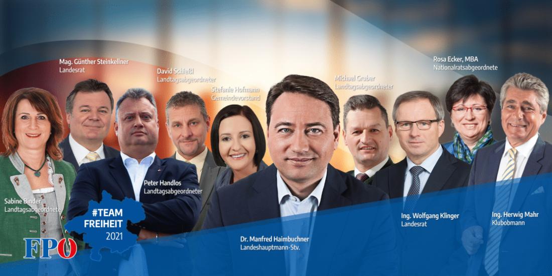 Landtagswahl 2021: Unser Team Freiheit